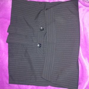Dresses & Skirts - Midi pinstripe skirt size L